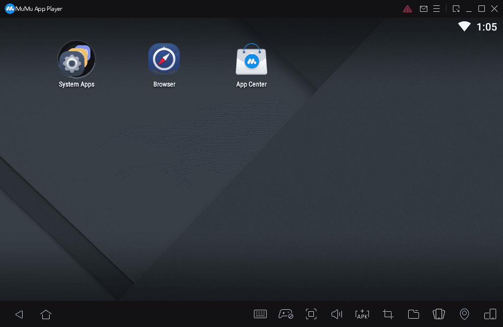 MuMu App Player UI interface